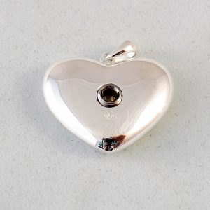 stirling silver urn pendant back