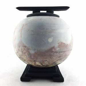 Unique locally made oriental style urn