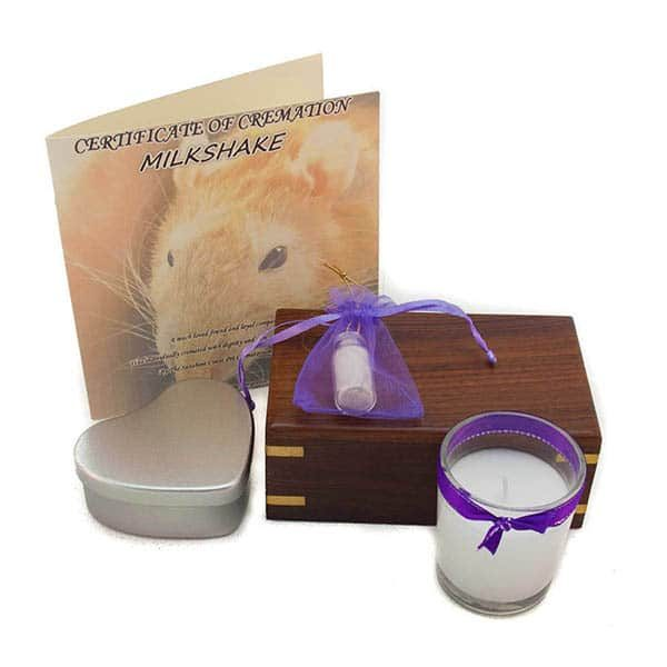 Pocket pet cremation package