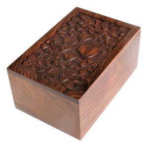 animal cremation decorated box