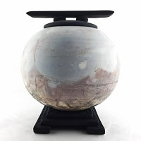Unique, locally hand made urns.